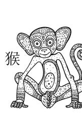 chinesische sternzeichen affe eigenschaften horoskop. Black Bedroom Furniture Sets. Home Design Ideas